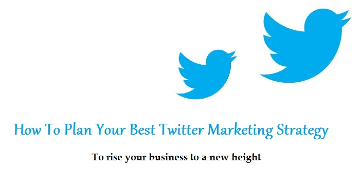 How To Plan Your Best Twitter Marketing Strategy To rise your business to a new height